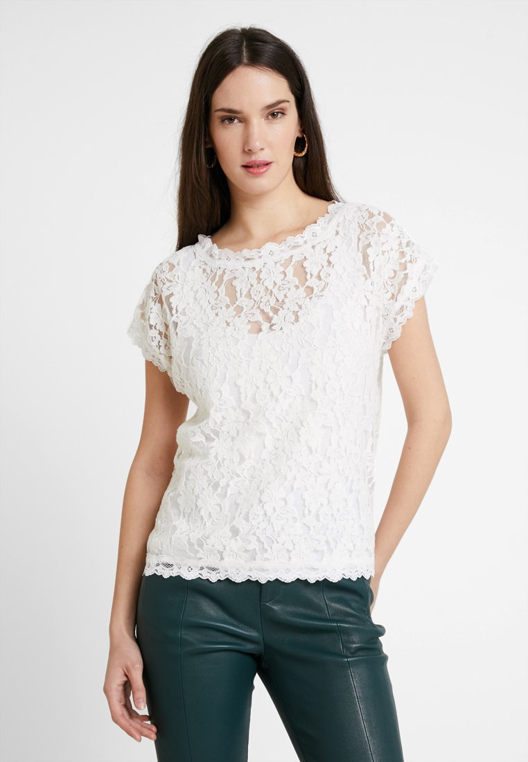 Cream - VIVI - Blouse - chalk