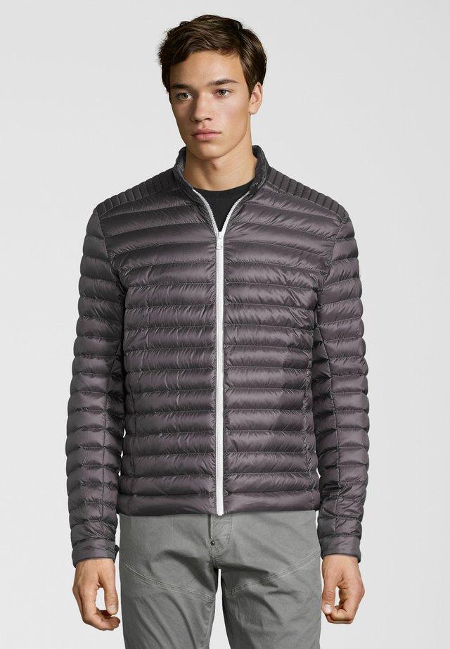 BIKER - Down jacket - anthracite
