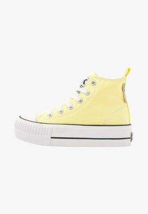KAYA MID - Sneakers hoog - yellow