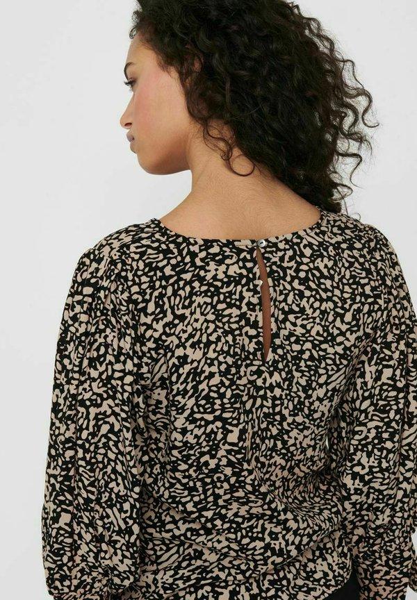 ONLY Bluzka z długim rękawem - black/czarny FYBE