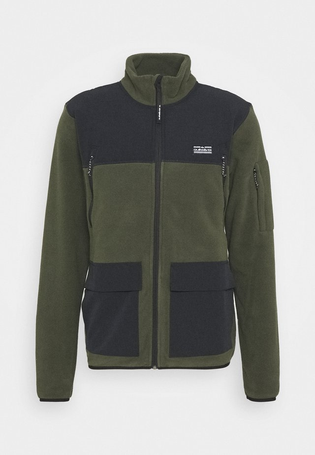 LOST LATITUDE - Fleece jacket - forest night