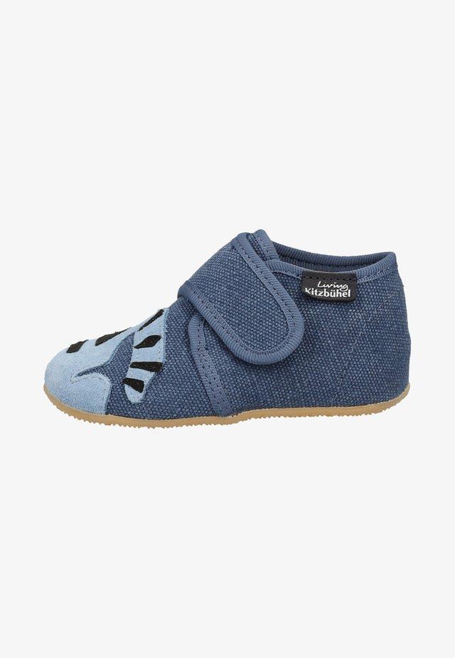 Chaussures à scratch - marine