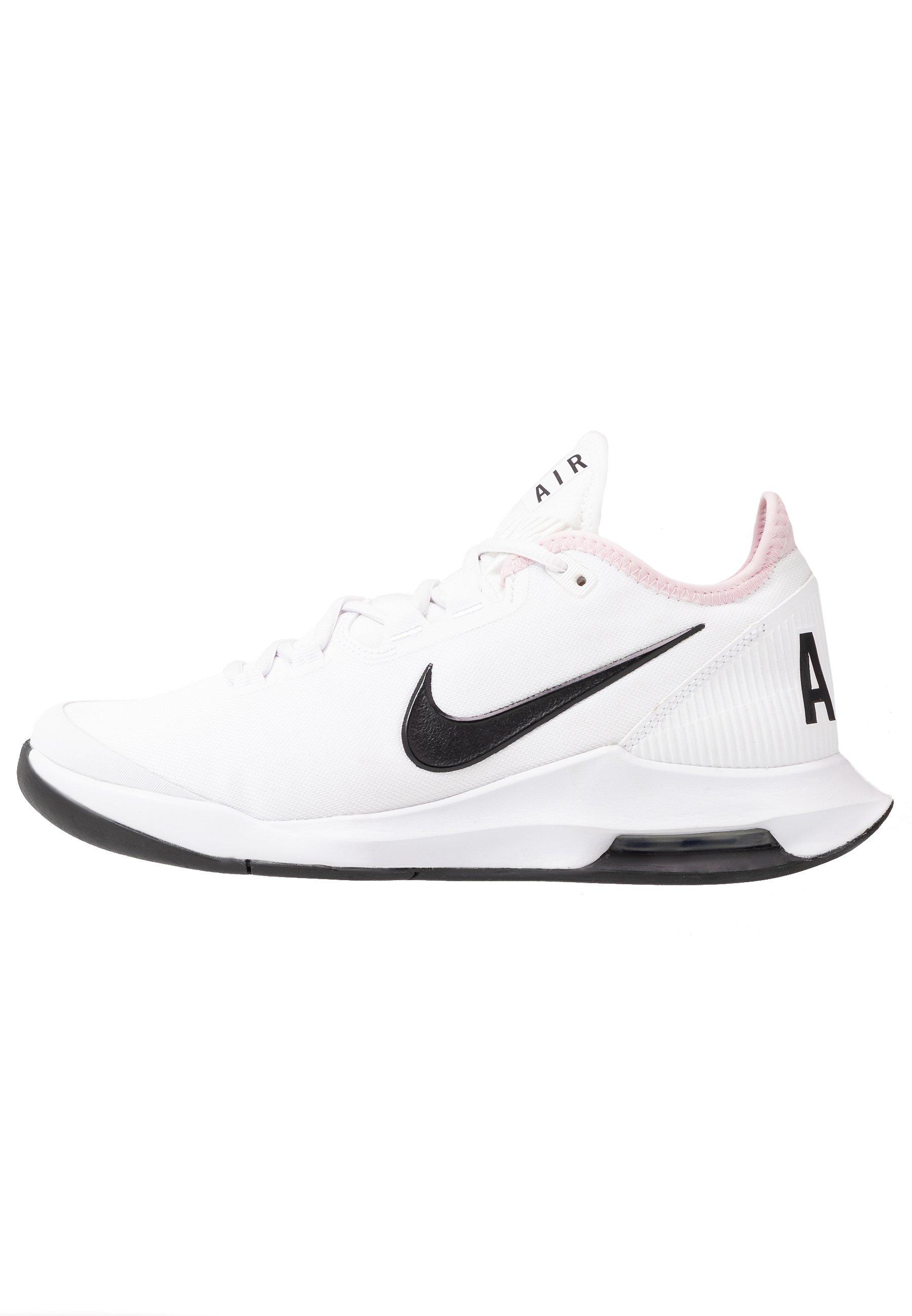 COURT AIR MAX WILDCARD - Chaussures de tennis toutes surfaces - white/black/pink foam