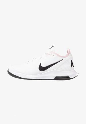 COURT AIR MAX WILDCARD - Chaussures de tennis toutes surfaces - white/black/pink foam