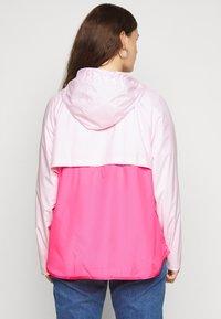 Nike Sportswear - PLUS - Summer jacket - pink foam/hyper pink/white - 2