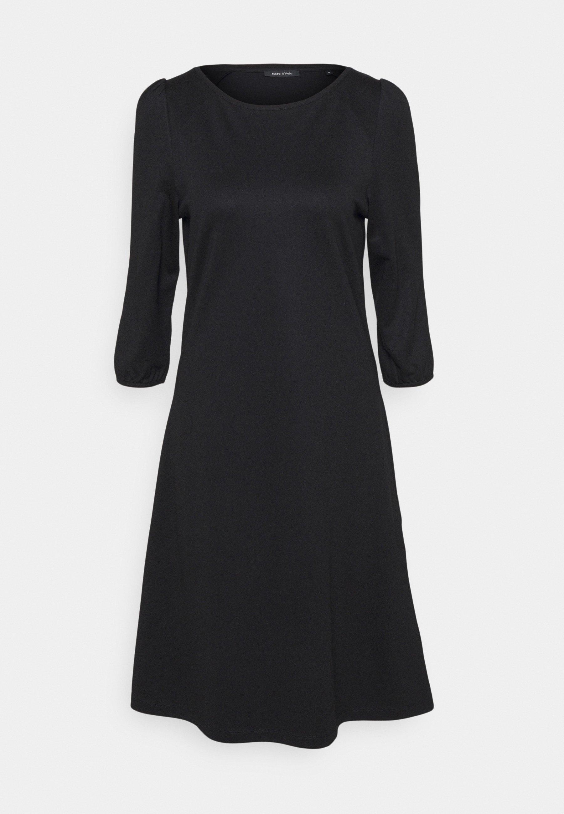 Women DRESS ROUND NECK - Jersey dress