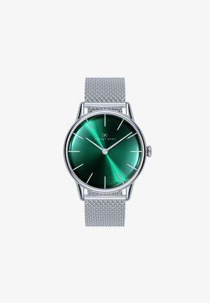UHR SERENITY GREENHILL SILVER SILVER MESH 32MM - Horloge - sunray green