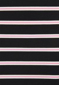 Tommy Jeans - STRIPE BODYCON MIDI SKIRT - Gonna a tubino - black / multi - 5