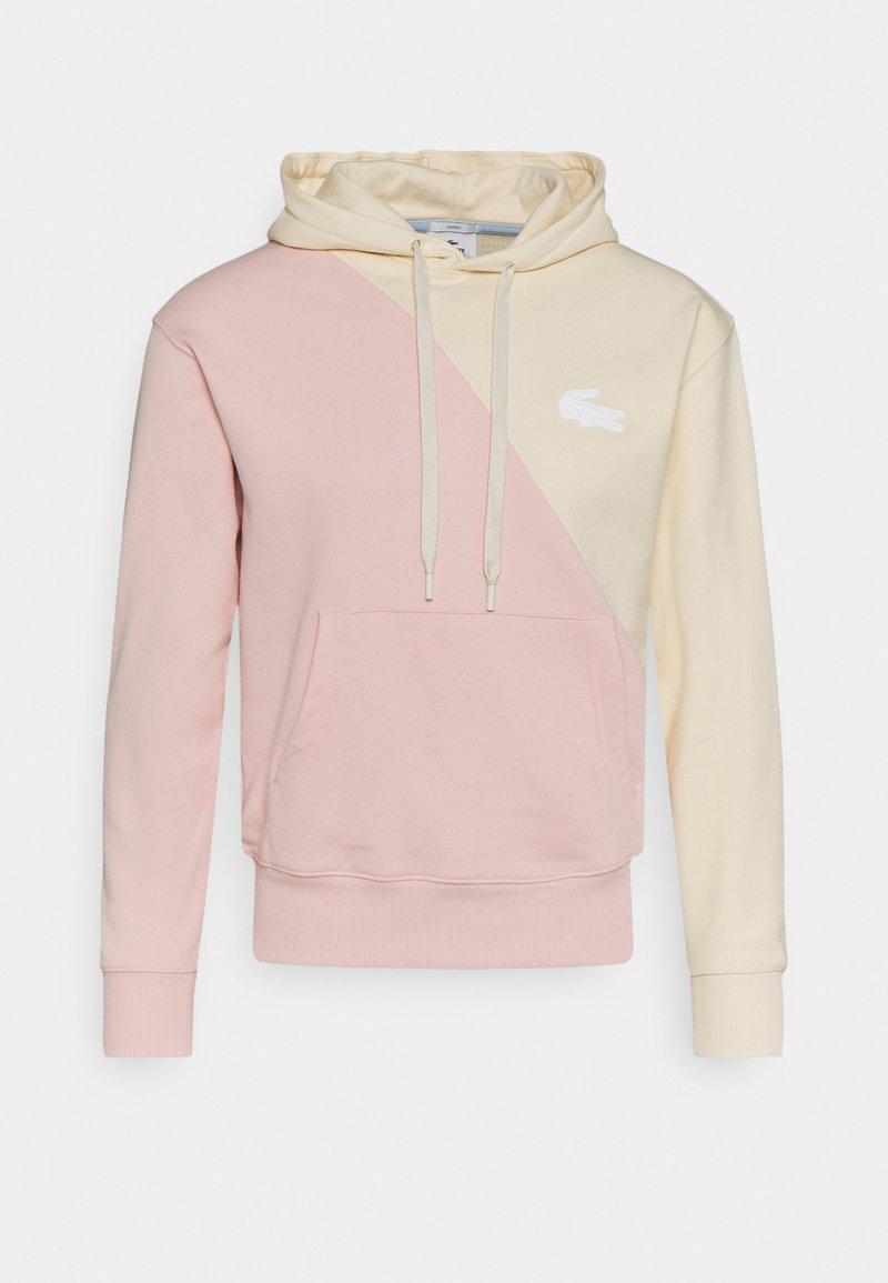 Lacoste LIVE - UNISEX - Zip-up hoodie - naturel clair/nidus
