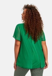 Samoon - Blouse - leaves green - 1