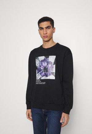 ABSTRACT CREW UNISEX - Sweatshirt - black