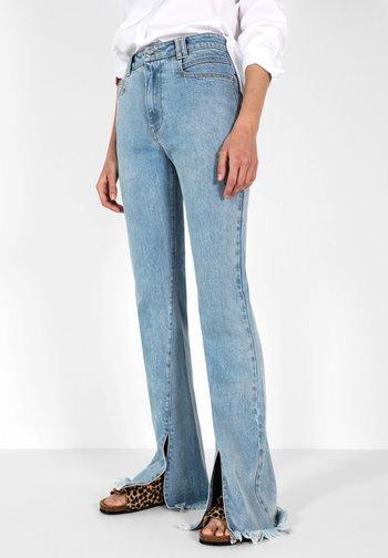 SPLIT FLARE - Jeans bootcut - light blue