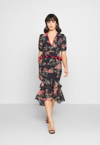 Hope & Ivy Petite - Shift dress - dark blue floral - 1