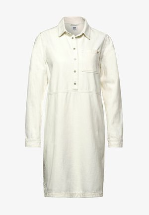 Denim dress - weiß