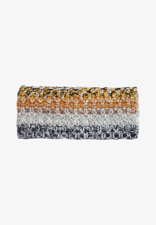 Ear warmers - grey knit