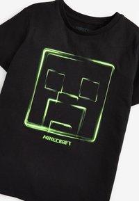 Next - MINECRAFT T-SHIRT - Triko spotiskem - black - 2
