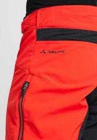 Vaude - MENS VIRT PANTS II - Outdoor trousers - mars red - 8