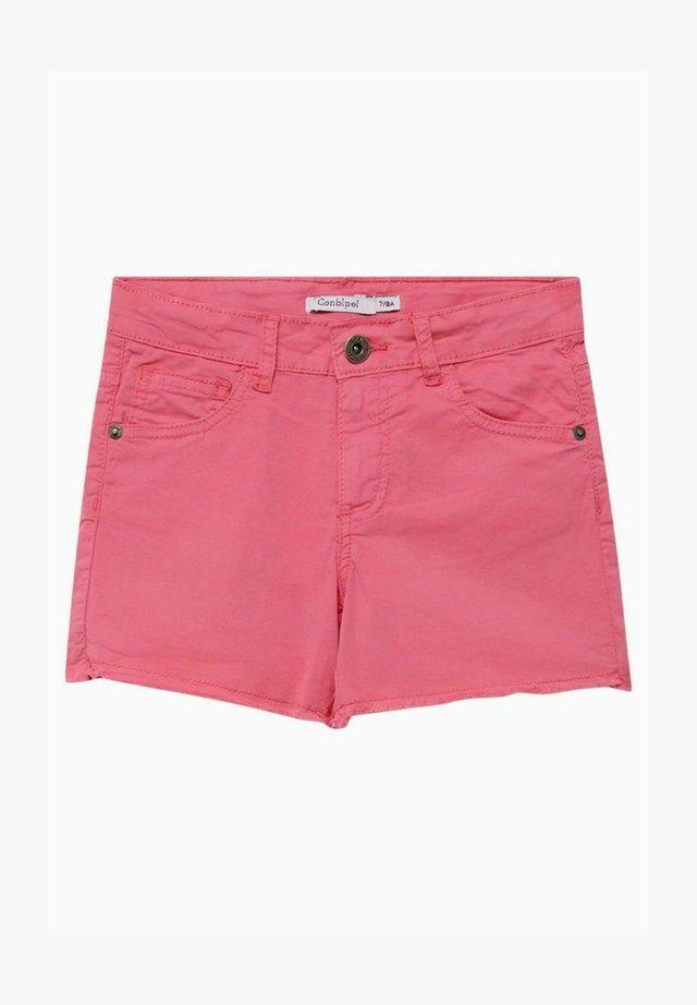 Shorts di jeans - fucsia