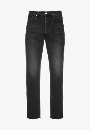 KAIHARA - Jeans Tapered Fit - black