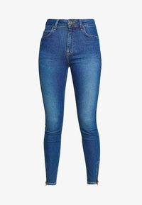 Lee - SCARLETT HIGH ZIP - Jeansy Skinny Fit - mid candy - 4