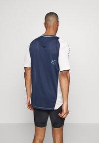 Fox Racing - DEFEND WURD - T-Shirt print - navy - 2