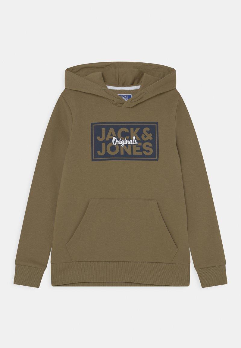 Jack & Jones Junior - JORTAPES HOOD JR - Hoodie - martini olive
