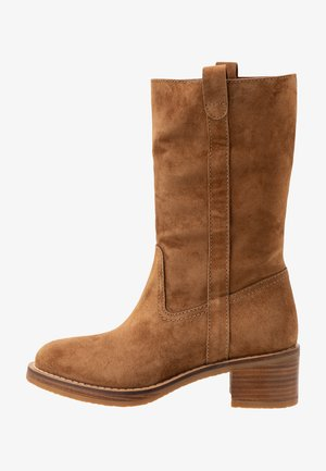 MADAME - Boots - cognac