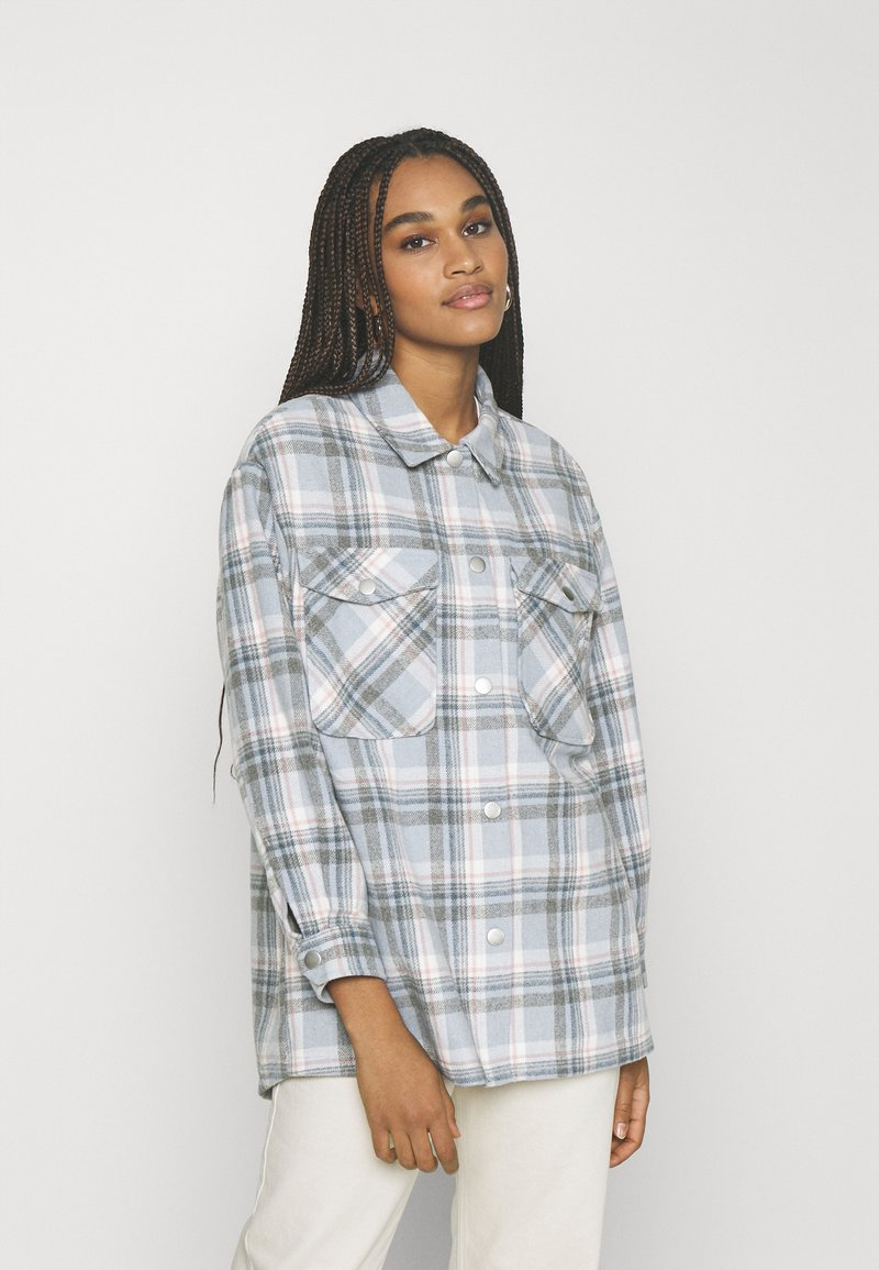 ONLY - ONLELLENE VALDA CHACKET - Lett jakke - cashmere blue/blue/pink