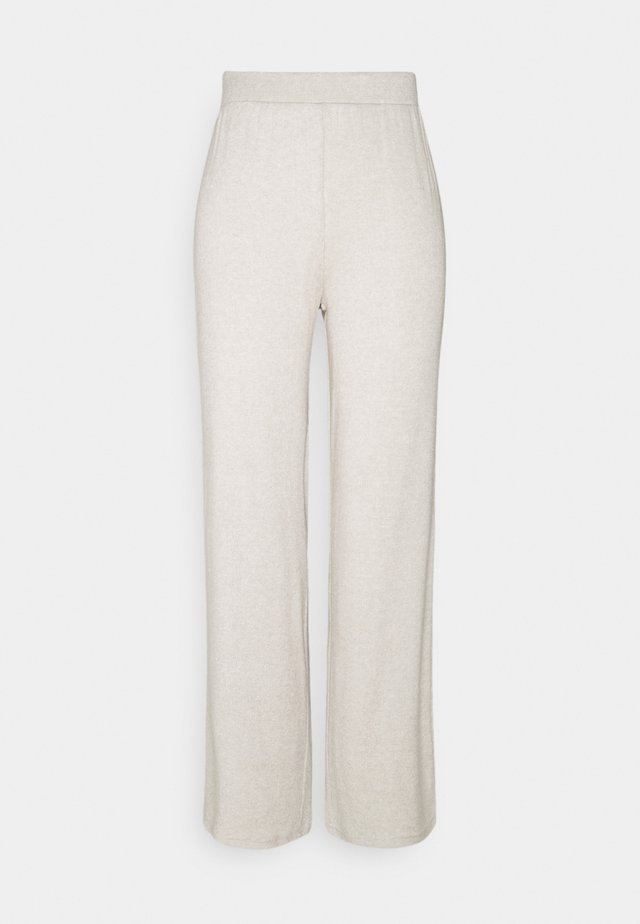 PCLEODA WIDE PANT - Leggings - birch