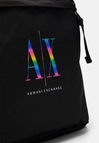 Armani Exchange - BACKPACK UNISEX - Batoh - nero - 3