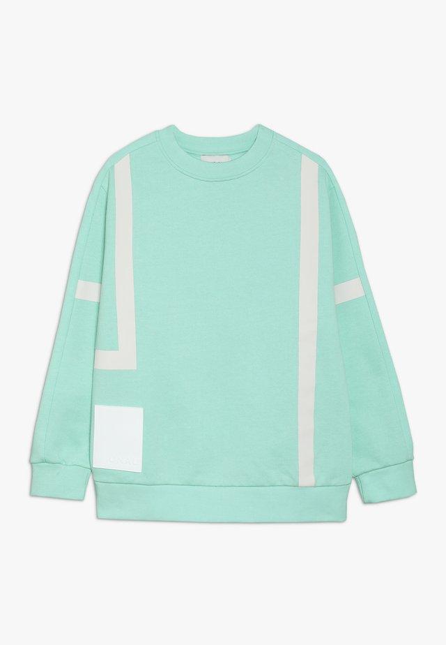 THORBJØRN - Felpa - pastel turquoise