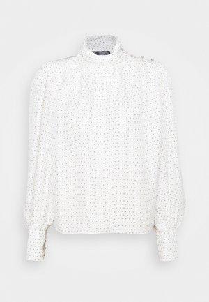 DELIA - Blouse - whisper white