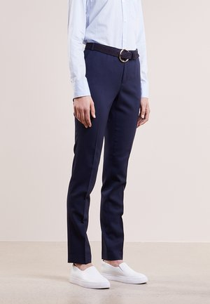 LOVANN - Trousers - peacoat blue