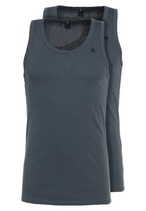BASE TANKTOP 2 PACK - Top - dark slate