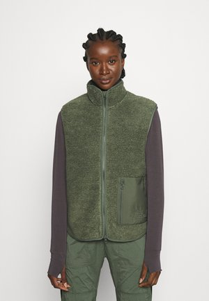 ORIGINAL PILE VEST - Waistcoat - thrill green