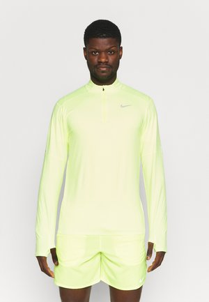 Long sleeved top - volt/white/silver