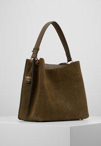 L. CREDI - FIORETTA - Handbag - khaki - 3