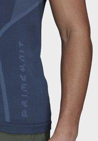 adidas Performance - T-shirts med print - blue - 2