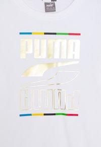 Puma - REBEL CREW 5 CONTINENTS  - Sweater - white - 2