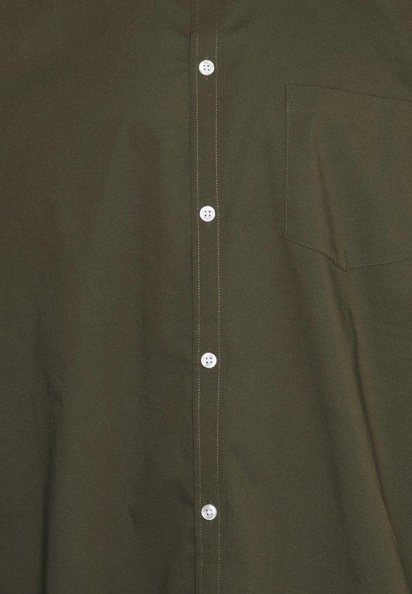 Pier One Koszula - olive/oliwkowy Odzież Męska NKJV