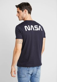 Alpha Industries - T-shirt imprimé - blue - 0