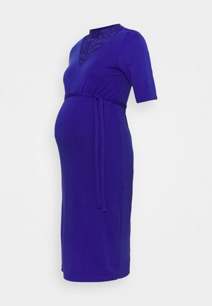 MLBLACKIE DRESS - Jersey dress - royal blue