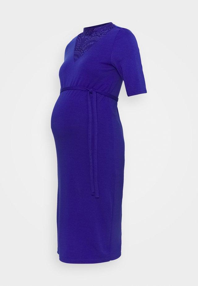 MLBLACKIE DRESS - Jersey dress - royal blue