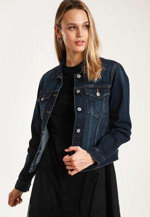 PIMKIE DUNKLE - Denim jacket - dark blue