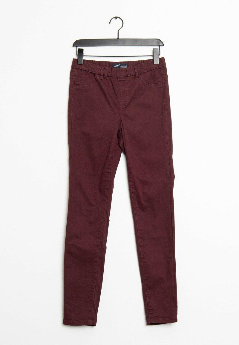 ARIZONA - Trousers - red