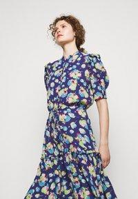 Lauren Ralph Lauren - DRAPEY POLY  - Denní šaty - blue multi - 3