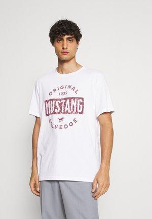 ALEX PRINT - T-shirt print - general white
