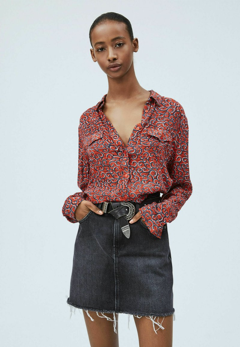 Pepe Jeans - CAMELIA - Button-down blouse - multi