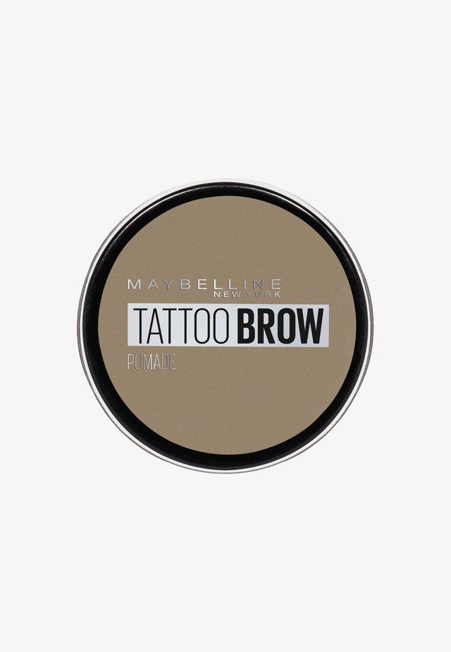TATTOO BROW POMADE - Eyebrow powder - 000 light blond