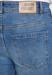 Denim Project - LIGHT DESTROY - Denim shorts - sicily blue - 5